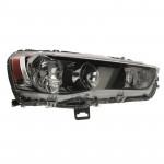 Фара передняя Mitsubishi Outlander XL 2007-2012 правая HB4/HB3, автом. рег., черн. - DEPO