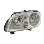 Фара передняя Volkswagen Caddy 2004-2010/Touran 2003-2006 левая H7/H7, эл. рег., с моторч.,хром. рам - DEPO