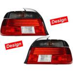 Фонари задние BMW 5 (E39) 1995-2003 черно-красные Design кт 2шт - HELLA