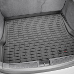 Ковер багажника  Tesla Model S 2015- задний, черный - Weathertech