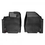 Ковры салона Infiniti JX35 2013- с бортиком, черные, передние - Weathertech