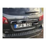 Hyundai Santa Fe 2006-2012 Накладка над номером - Carmos