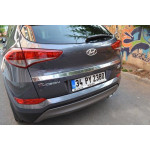 Hyundai Tucson 2015- Накладка над номером широкая - Carmos