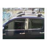 VW Golf 7 2012- Накладки дверных стоек 6шт - Carmos