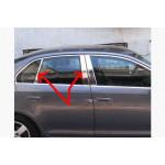 VW Jetta 2005-2010 Накладки дверных стоек 6шт - Carmos