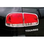 VW Touareg 2003-2008 Накладки на стопы (пластик) 4шт - Carmos