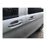 Mercedes Vito W447 2014- Накладки на ручки без чипа 8шт - Carmos