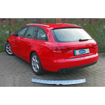 Audi A4 Avant 2007-2011 Накладка на задний бампер - Carmos