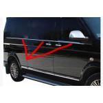 VW T5/T6 2003-/2015- Молдинги стекол нижние 6шт - Carmos