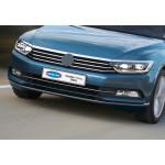 VW Passat B8 (2014-) Накладки на передний бампер 3шт - OMSALINE