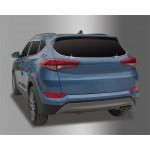 Hyundai Tucson 2015- Нижняя окантовка заднего стекла 2шт - CLOVER