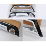 Ford Kuga (2016-) / Передняя и задняя накладки бамперов - AVTM