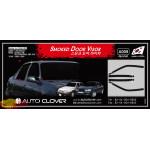 Дефлекторы окон DAEWOO NEXIA 1996 ТЕМНЫЙ 4 ШТ. - AutoClover