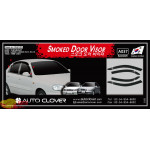 Дефлекторы окон DAEWOO LANOS/SENS 1997 ТЕМНЫЙ 4 ШТ. - AutoClover
