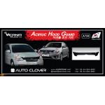 Дефлектор капота HYUNDAI ACCENT 2006 ТЕМНЫЙ 1 ШТ. - AutoClover