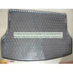 Ковер в багажник FORD Focus (2011>) (универсал) (с докаткой) - резиновый Avto-Gumm