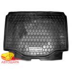 Ковер в багажник CHEVROLET Tracker с 2013 - резиновый Avto-Gumm
