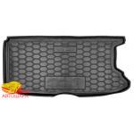 Ковер в багажник FIAT 500 e резиновый - AvtoGumm