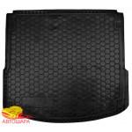 Ковер в багажник FIAT Doblo с 2010 (5 мест) короткая база - резиновый Avto-Gumm