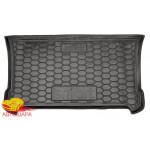 Ковер в багажник SMART 453 (2014>) Fortwo резиновый - AvtoGumm