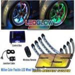 Неоновая светодиодная подсветка дисков LU-W01 Million Color