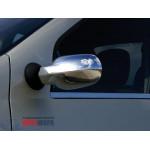 Dacia/Renault Logan 2004-2007  Накладки на зеркала (пластик) 2шт - Carmos