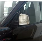 Opel Combo 2012- Накладки на зеркала (пластик) 2шт - Carmos