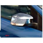 Ford Focus 2/3 2008-/2011-/Mondeo 2007-2014 Накладки на зеркала (пластик) 2шт - Carmos