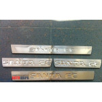Hyundai Santa Fe 2006-2012 Накладка на поріжки 4шт - Carmos