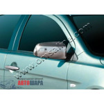 Mitsubishi Lancer X 2007- Накладки на зеркала 2шт - Carmos