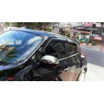 Nissan Juke 2010-2014 Накладки на зеркала 2шт - Carmos