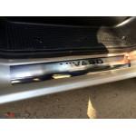 Opel Vivaro 2001-2014 Накладки на порожки 2шт - Carmos