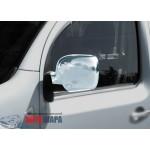 Renault Kangoo 2008-2013 Накладки на зеркала (пластик) 2шт - Carmos