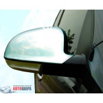 VW Passat B5 (03-05)/Sharan (04-10)/Golf V (03-08)/Jetta (05-10)/EOS (06-) Накладки на зеркала 2шт - Carmos