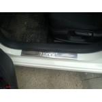 VW Jetta 2011- Накладки на порожки 4шт - Carmos