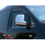 VW Caddy 2010-/2015-/ VW T5 2003- Накладки на зеркала (пластик) 2шт - Carmos