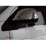 VW T5+/T6/Amarok 2010- Накладки на зеркала (пластик) 2шт - Carmos