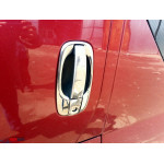 Renault Trafic/Opel Vivaro/Nissan Primastar 2001-2014 Обводка ручек 4шт - Carmos