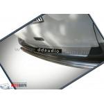 VW Caddy 2004- Накладка на задний бампер с загибом - Carmos