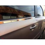 Chevrolet Aveo седан 2006-2011 Молдинги стекол нижние 4шт - Carmos