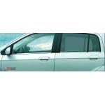 Hyundai Getz 2002-2009 Молдинги стекол нижние 6шт - Carmos