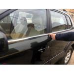 Hyundai Tucson 2004-2012 Молдинги стекол нижние 4шт - Carmos