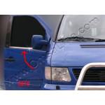 Mercedes Vito W638 1996-2002 Молдинги стекол нижние 2шт - Carmos