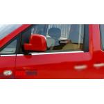 VW Caddy 2010-2015 Молдинги стекол 2шт - Carmos