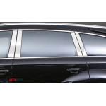 Audi Q7 2005-2015 Накладки дверных стоек 4шт - Carmos