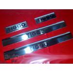 Chery Tiggo 2006-2012 Накладки на порожки 4шт - Carmos