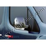 Citroen Berlingo/Peugeot Partner 1996-2008 Накладки на зеркала (пластик) 2шт - Carmos