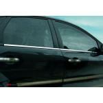 Ford Focus 2005-2011 Молдинг стекол нижний 4шт - Carmos