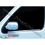 Renault Kangoo 1998-2007 Накладки на зеркала (пластик) 2шт - Carmos