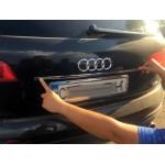 Audi Q7 2005-2015 Планка над номером - Carmos